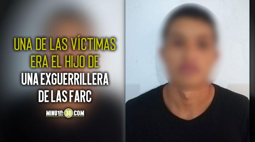 Cayo alias Agustin Puentes implicado en un triple homicidio en Ituango Antioquia
