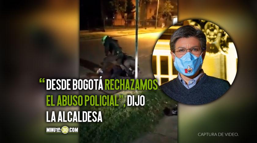 Claudia Lopez envia contundente mensaje sobre muerte de abogado por abuso policial