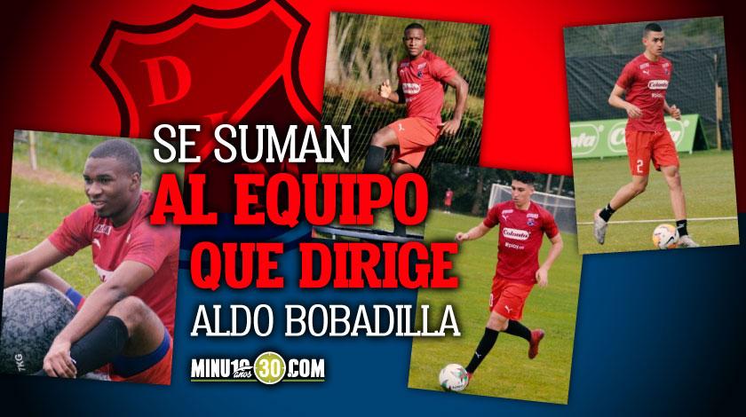 Cuatro juveniles seran promovidos al equipo profesional del Medellin