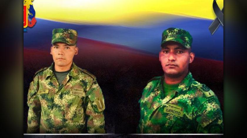 Dos soldados mueren mientras realizaban tareas de erradicacion en Tumaco