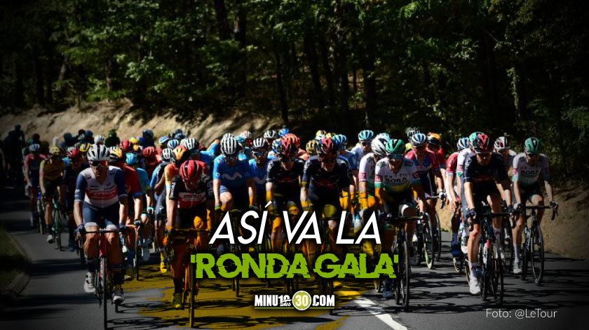 Eslovenia y Colombia se mantienen al mando de la general del Tour de Francia