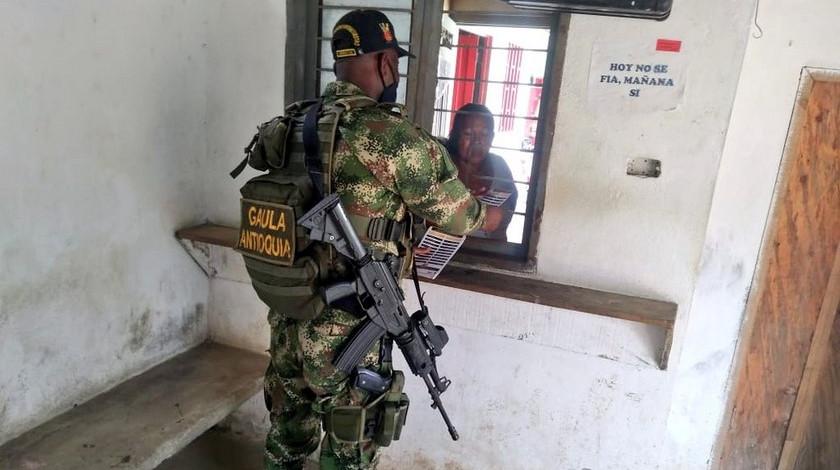 Gaula Antioquia noticias operativo contra secuestro
