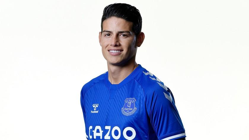 James Rodriguez llega al Everton