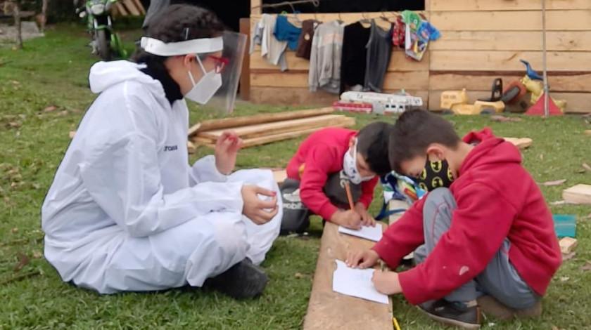 Jardines infantiles de la ciudad de Bogota
