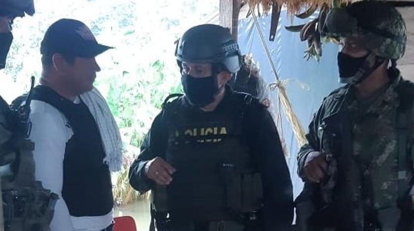 Lider social Manuel Solano rescatado con vida Riosucio Choco Ejercito Policia noticias
