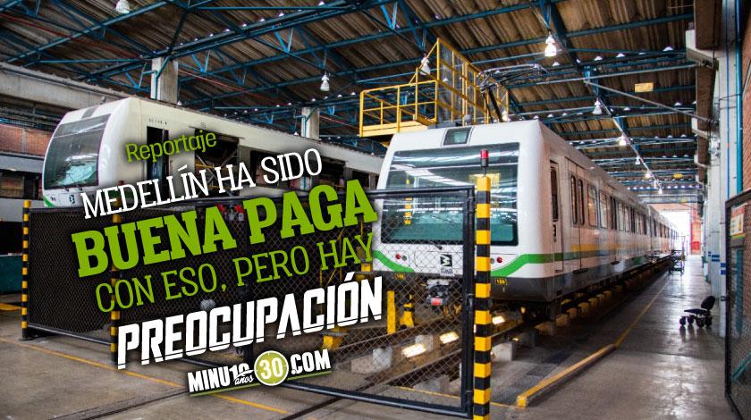 Medellin le pide al gobierno que no le cobre por tres anos la vieja deuda del Metro que presenta serio deficit