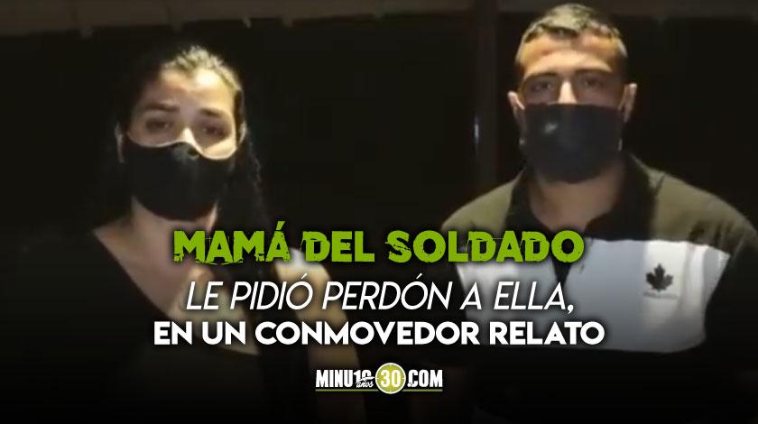 No hay odio hacia el soldado Hermana de Juliana Giraldo hablo del hecho y pidio no generar violencia