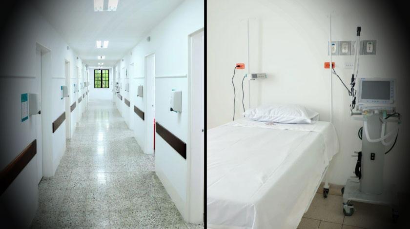 Nuevas camas UCI Para pacientes covid municipio de Envigado Antioquia
