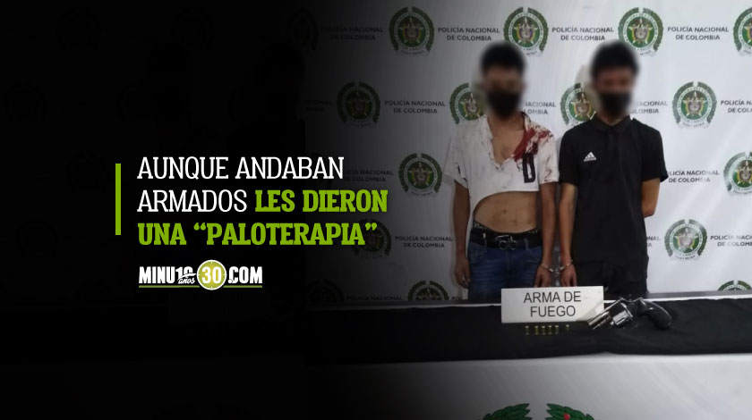 Se pusieron a atracar en pleno Centro de Medellin y casi los linchan