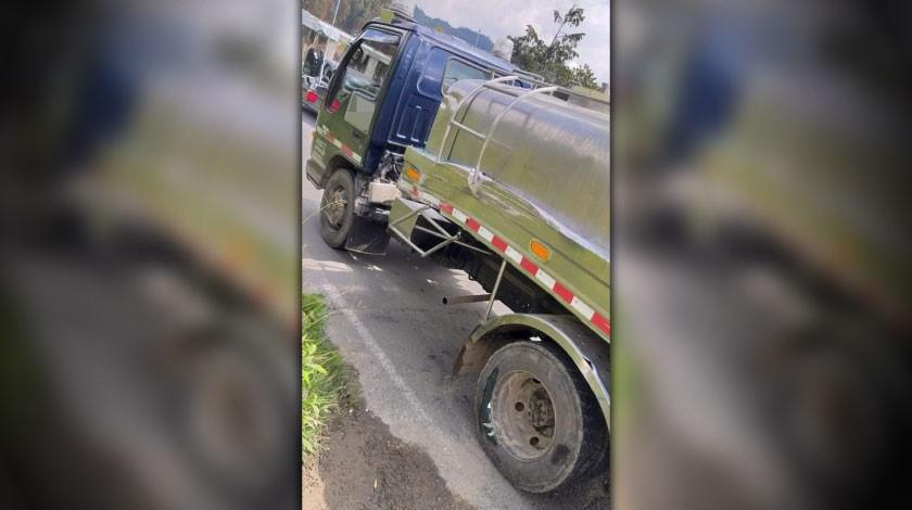accidente de vehiculo en San Felix1 1