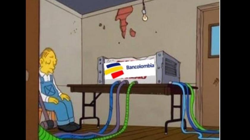 bancolombia memes