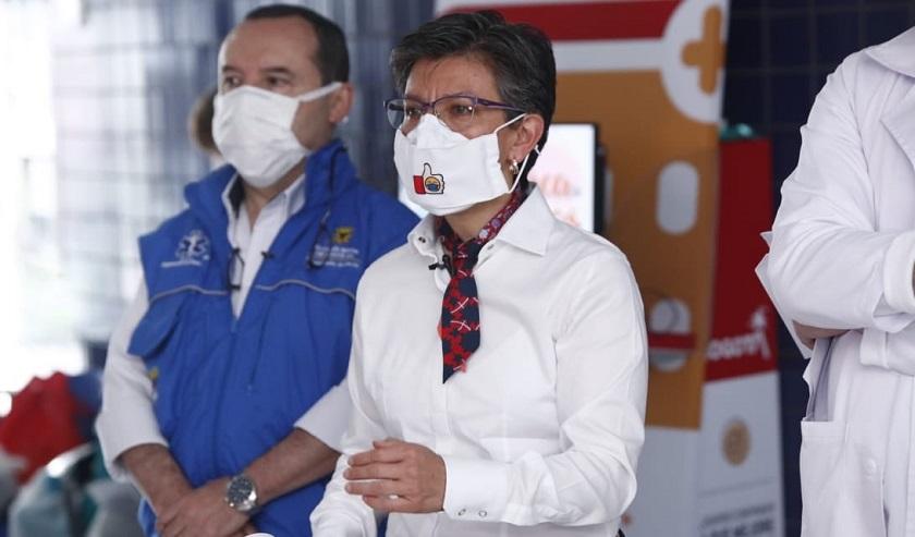 Claudia López le pide humildad a la Policía