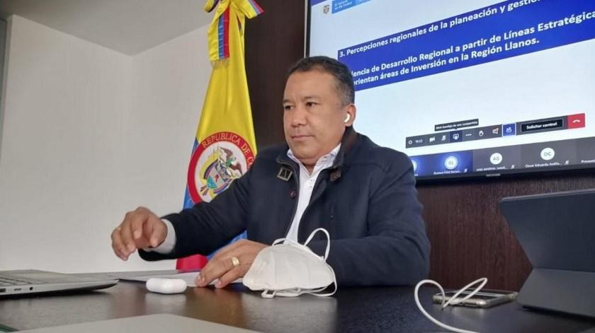 gobernador de Arauca Jose Cisneros