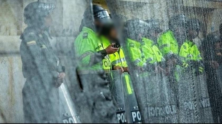 policia bogota manifestaciones
