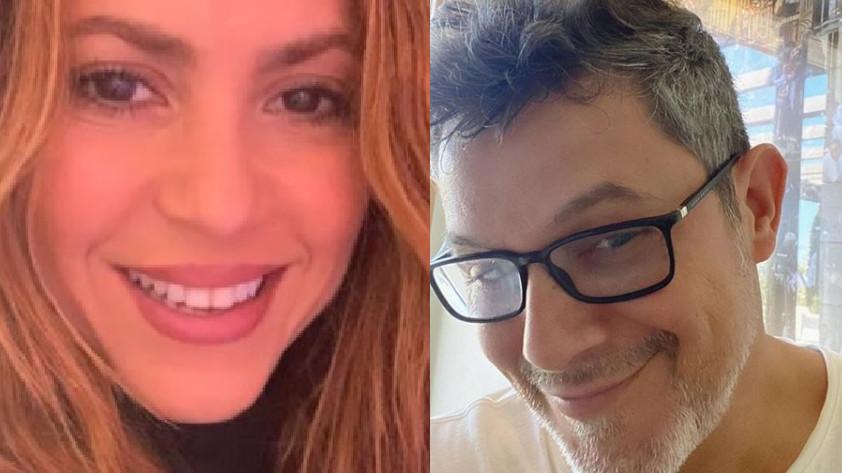 Shakira y Sanz