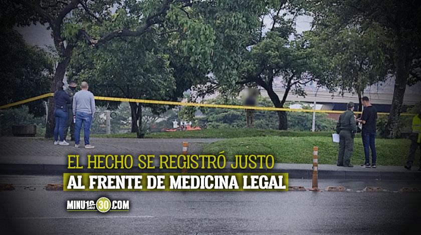 suicidio en el barrio Caribe de Medellin