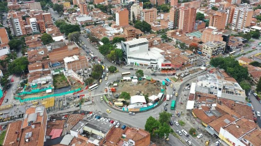 Calle Colombia a la altura de la Avenida 80