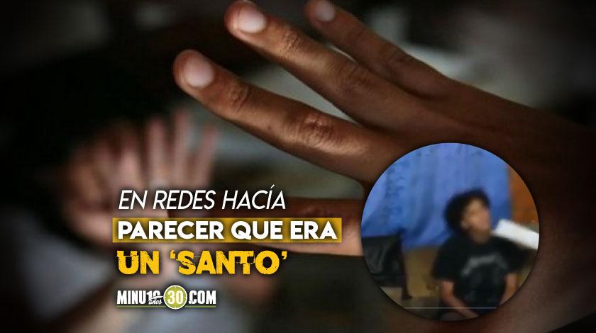Capturado alias Palomito de Colombia abuso sexual de menores