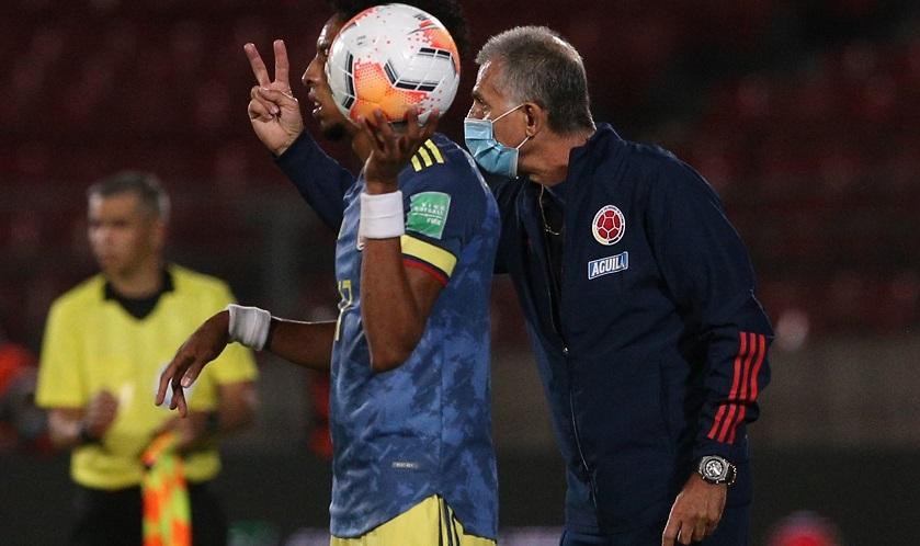 Colombia de Queiroz consigue cuatro de seis puntos posibles