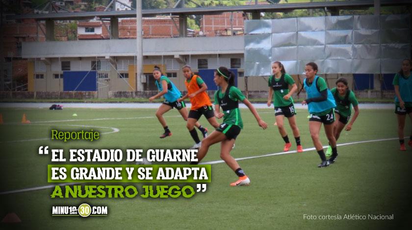 En la Liga Femenina Nacional espera sacar provecho de la localia en el estadio de Guarne 1