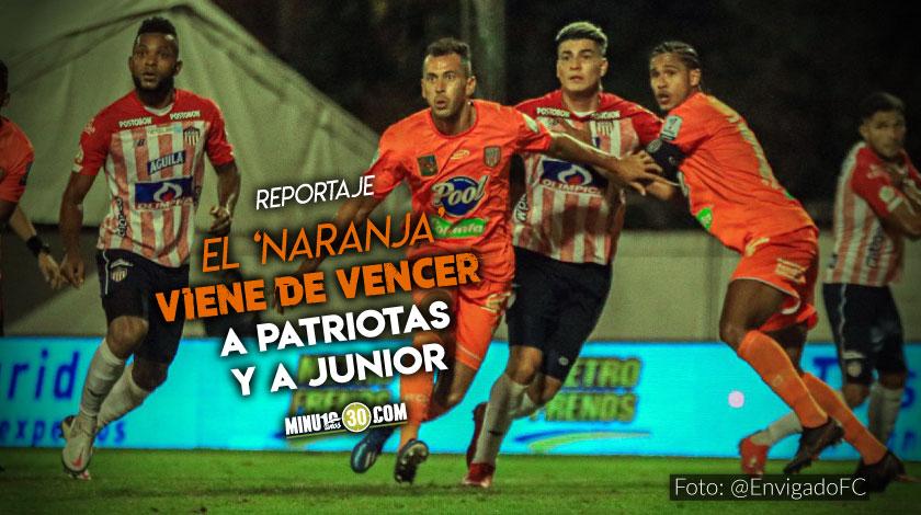 Envigado FC quiere encarrilar su tercera victoria consecutiva frente a Nacional