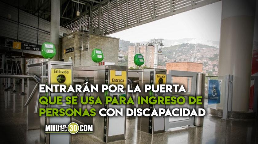 Ingreso ciclistas Metro de Medellin prueba piloto noticias