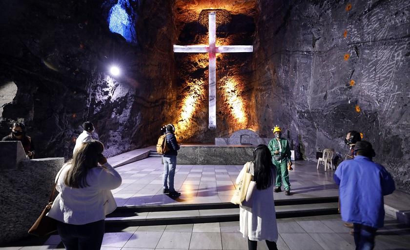 La Catedral de Sal de Zipaquirá reabre