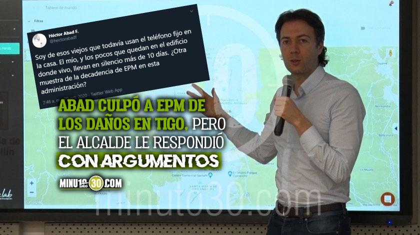 La peinada del Alcalde de Medellin a Hector Abad