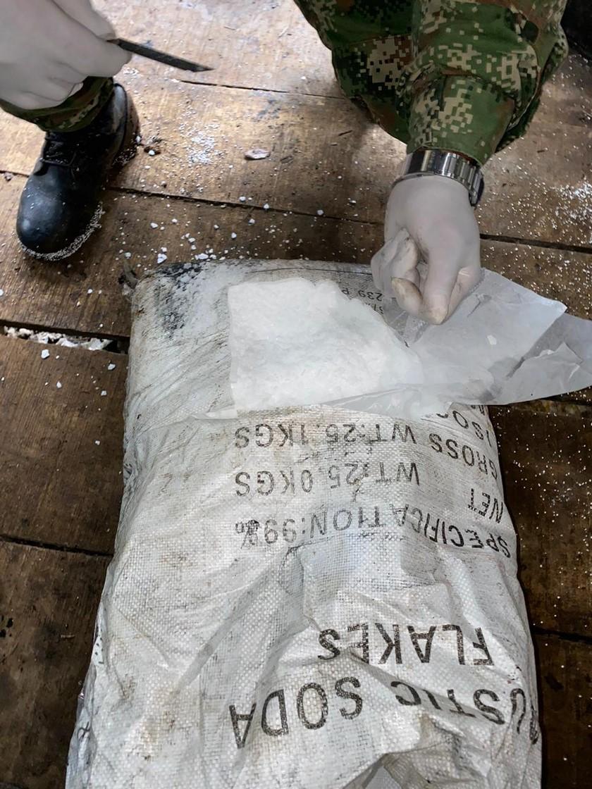 Laboratorio de cocaina de Los Chatas en El Carmen de Viboral 1