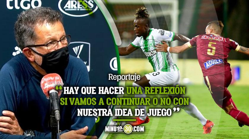 Me equivoque plantee mal el partido y elegi mal el grupo JC Osorio 1