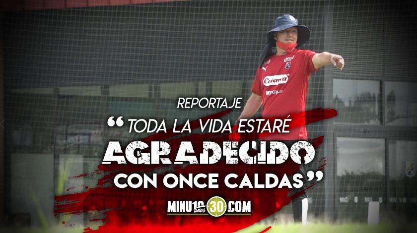 Medellin prepara partido ante Caldas el cual tiene condimento especial para Javier alvarez
