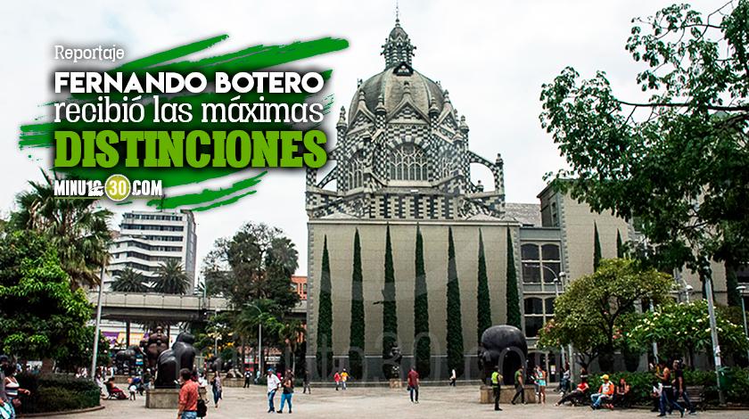 Medellin reconocera a uno de sus grandes artistas y por eso el 2021 sera el ano Botero