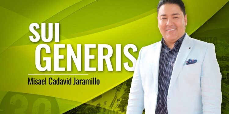 Misael Cadavid Jaramillo SUI GENERIS 750