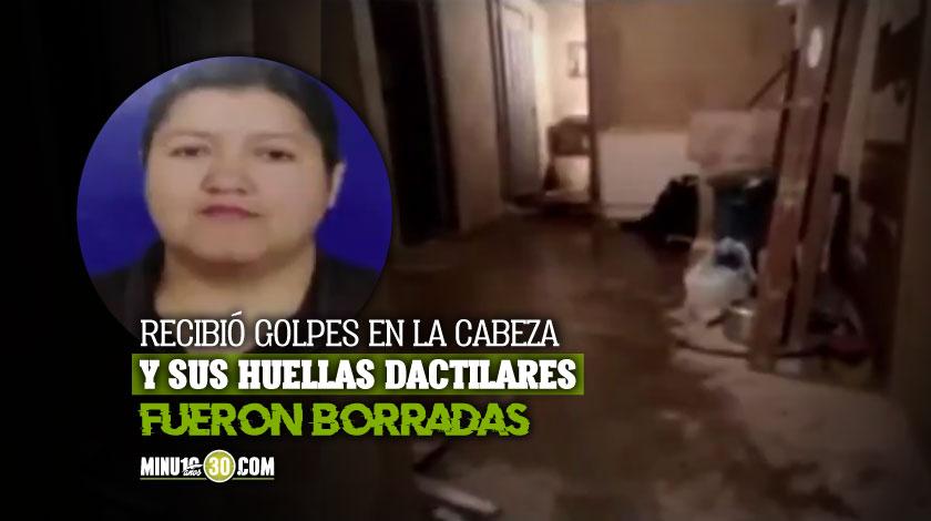 Mujer fue asesinada en Bogota y su cuerpo duro oculto en el bano durante un mes