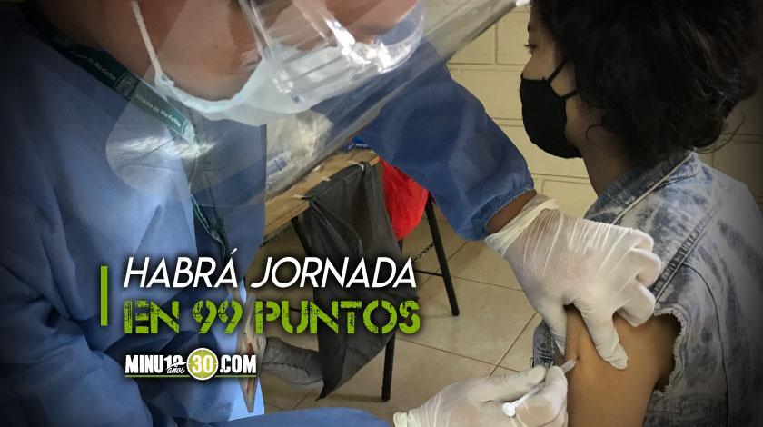 No desaproveche Este sabado habra jornada de vacunacion en Medellin