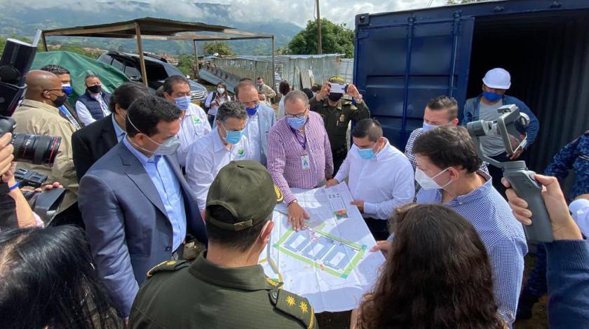 Nuevo pabellon de la carcel la paz del municipio de Itagui Antioquia La Paz Maxima Seguridad