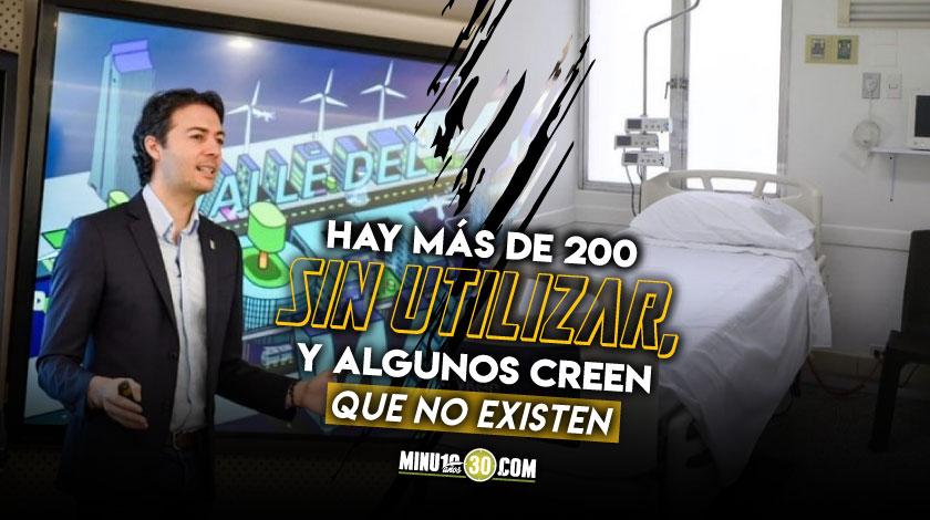 Quintero explica por que en Medellin no funcionan las 1.000 UCI que el dice se tienen
