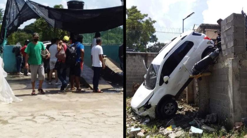 Se registro un accidente en un lavadero de carros en Baranoa Atlantic