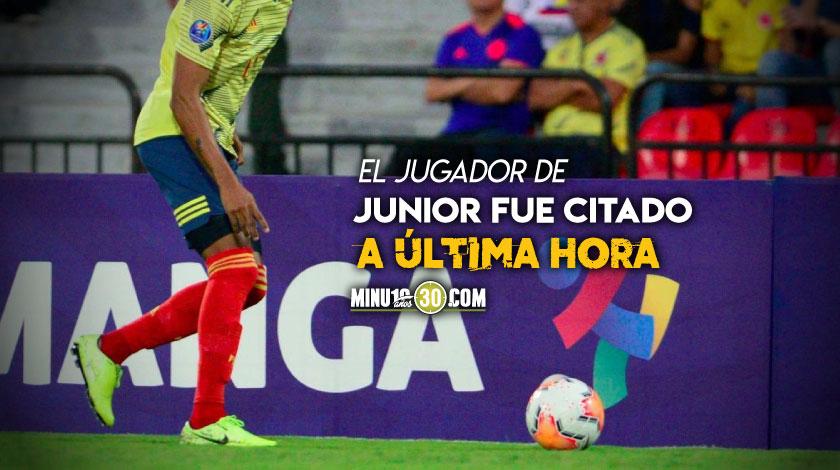 Seleccion Colombia convoco otro jugador mas para las Eliminatorias Sudamericanas