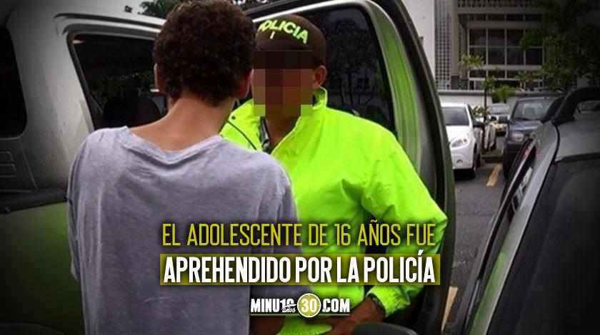 Un adolescente habria asesinado a padrastro en Rionegro Antioquia