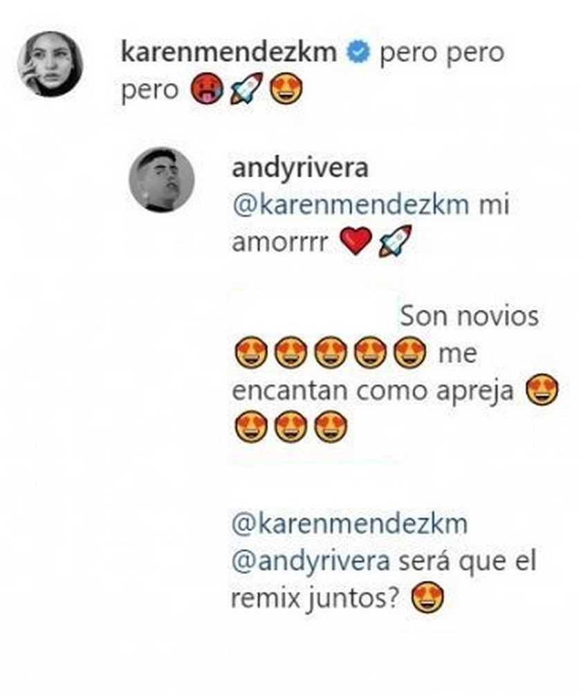 andy mensajes mujer
