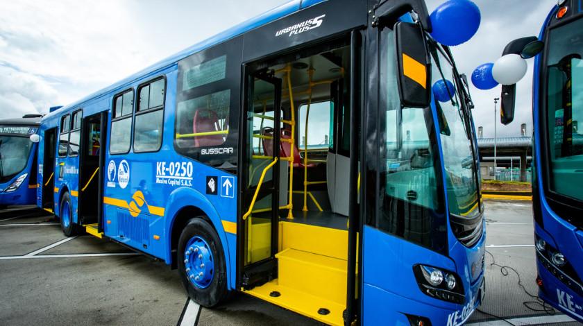 buses SITP Bogota transporte Transmilenio