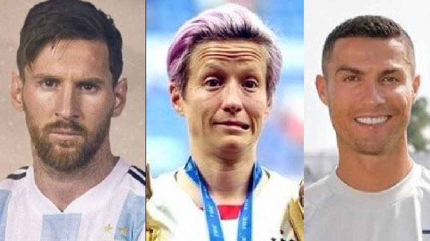 Críticas a Messi y Ronaldo