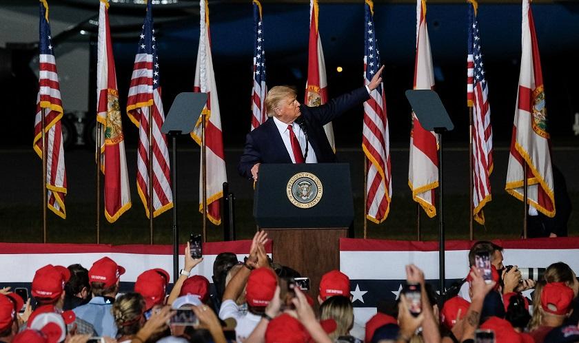 Trump vota por Trump en Florida, antes de que Obama haga campaña en Miami