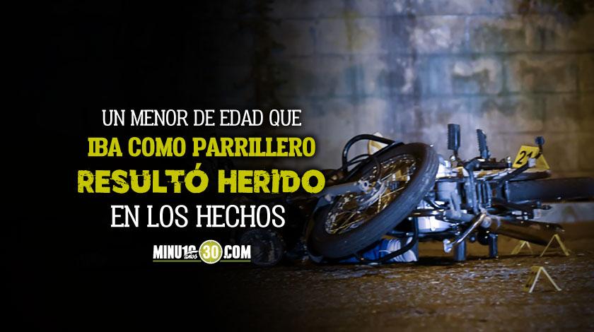 homicidio de motociclista en el barrio Florencia de Medellin 20 10 2020