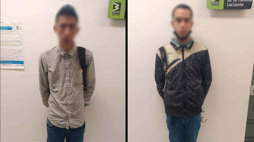 ladrones en el metro de Medellin