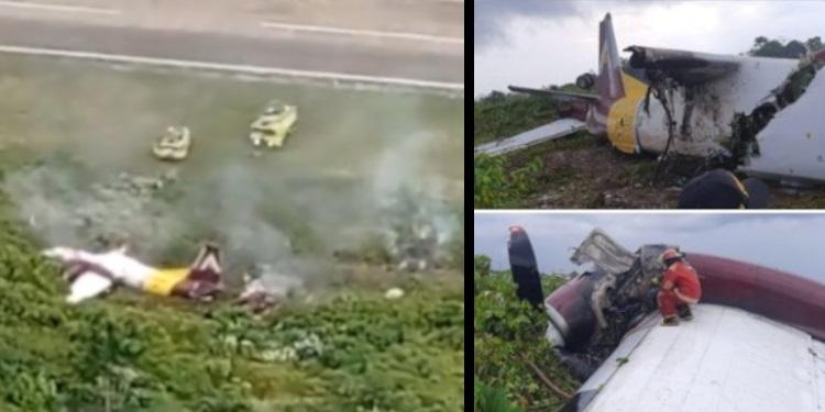 peru accidente avion 14 2020