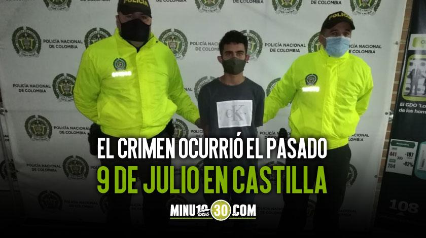 A prision un presunto sicario de los Los Mondongueros quien habria asesinado a un joven tatuador en Castilla 1