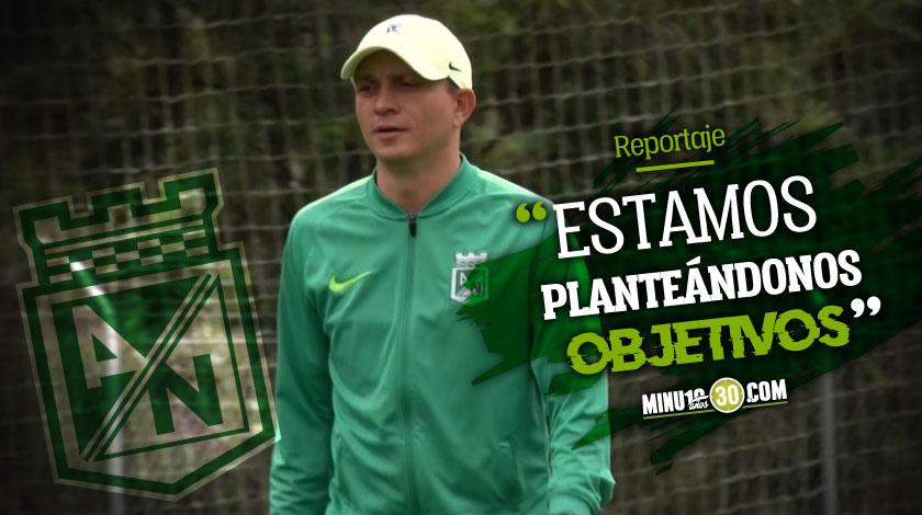Alejandro Restrepo vive el dia a dia y no se atormenta por rumores sobre nuevo entrenador