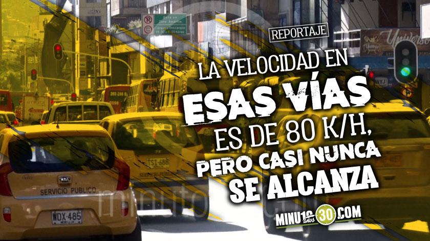 Con un piloto Medellin buscara reducir la maxima velocidad en algunas de sus vias e iniciara con la autopista norte